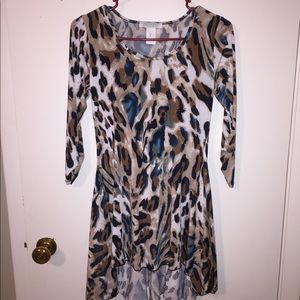 Leopard Dress, Size S